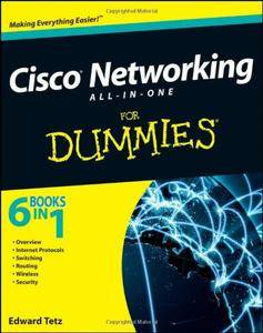 Cisco Networking All-in-One For Dummies (Repost)