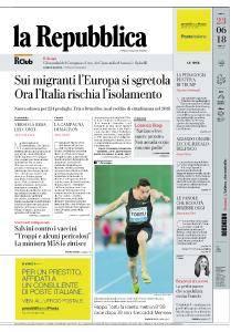 la Repubblica - 23 Giugno 2018