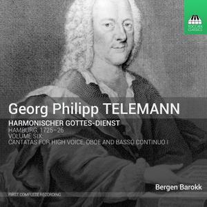 Bergen Barokk - Telemann: Harmonischer Gottes-Dienst, Vol. 6 (2015)