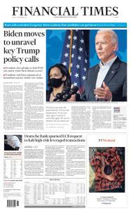 Financial Times Europe - November 9, 2020