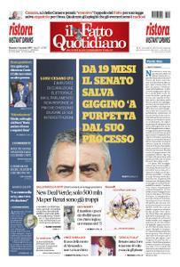 Il Fatto Quotidiano - 03 novembre 2019