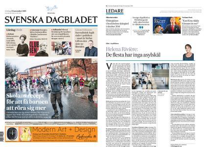 Svenska Dagbladet – 23 november 2019