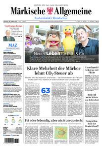 Märkische Allgemeine Luckenwalder Rundschau - 14. August 2019