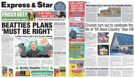 Express and Star Dudley and Wyre Forest Edition – February 14, 2020