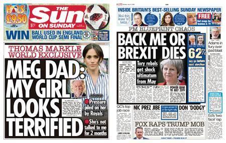 The Sun UK – 15 July 2018