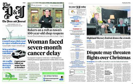 The Press and Journal Moray – November 13, 2018