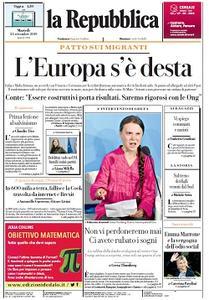 la Repubblica - 24 Settembre 2019
