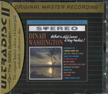Dinah Washington - What A Diff'rence A Day Makes! (1959) [MFSL UDCD 698] Re-up