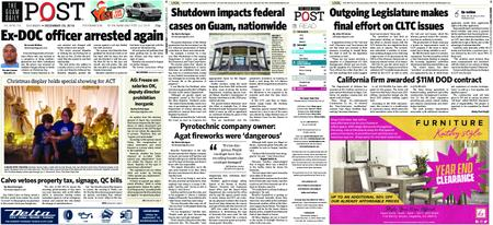 The Guam Daily Post – December 29, 2018