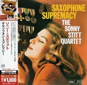 Sonny Stitt - Saxophone Supremacy (1959) {Verve Japan Jazz The Best Series UCCU-9943 rel 2012}