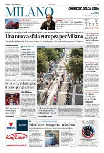 Corriere della Sera Milano – 04 settembre 2020