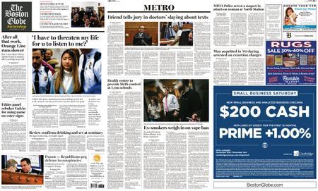 The Boston Globe – November 23, 2019