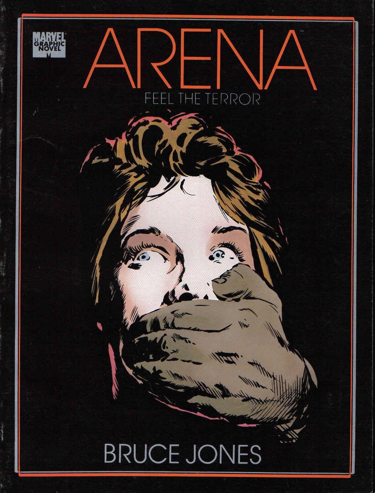 Marvel Graphic Novel 45 - Arena 1989