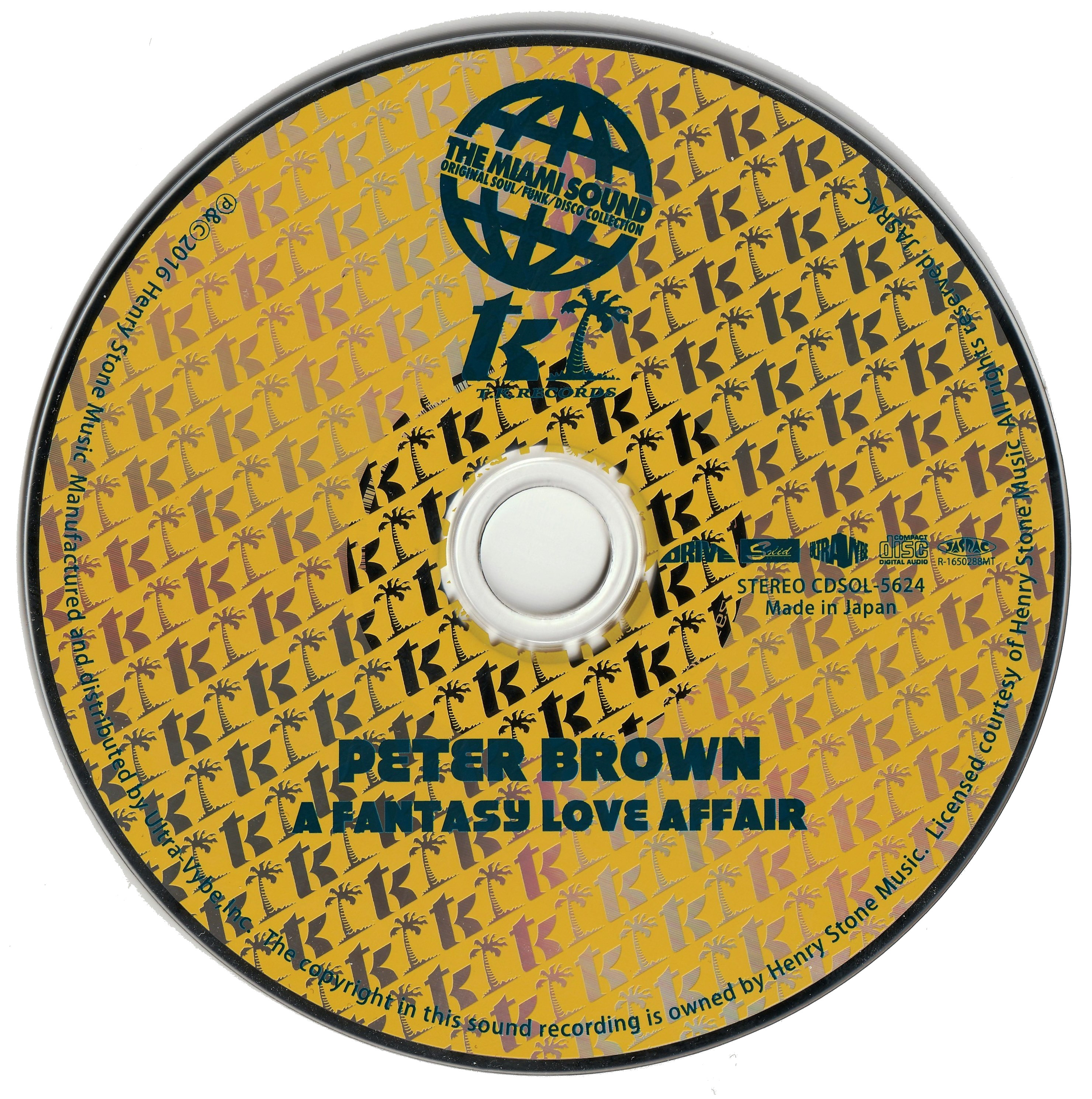 Peter Brown - A Fantasy Love Affair (1977) [2016, Japan]