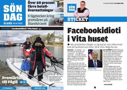 Ålandstidningen – 26 april 2020