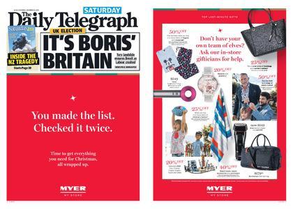 The Daily Telegraph (Sydney) – December 14, 2019