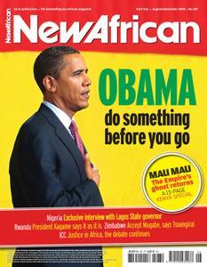 New African - AugustSeptember 2009