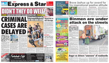 Express and Star City Edition – August 16, 2019