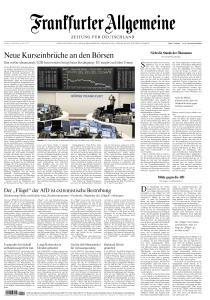 Frankfurter Allgemeine Zeitung - 13 März 2020
