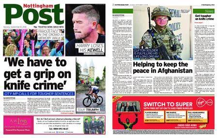 Nottingham Post – September 10, 2018