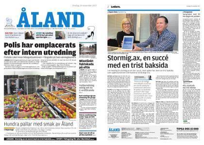 Ålandstidningen – 29 november 2017