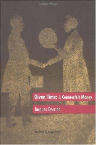 Given Time: I. Counterfeit Money
