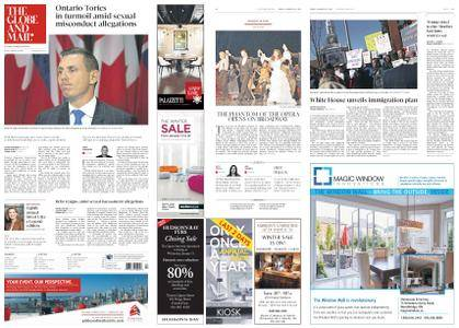The Globe and Mail – January 26, 2018