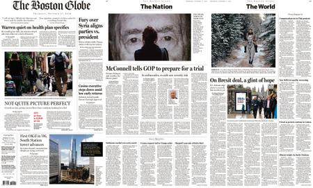The Boston Globe – October 17, 2019
