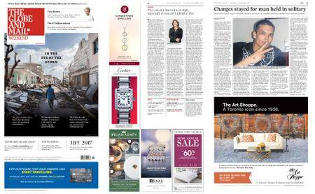 The Globe and Mail – September 09, 2017