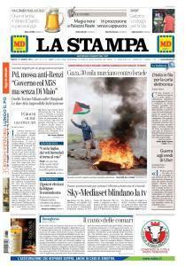 La Stampa Torino Provincia e Canavese - 31 Marzo 2018
