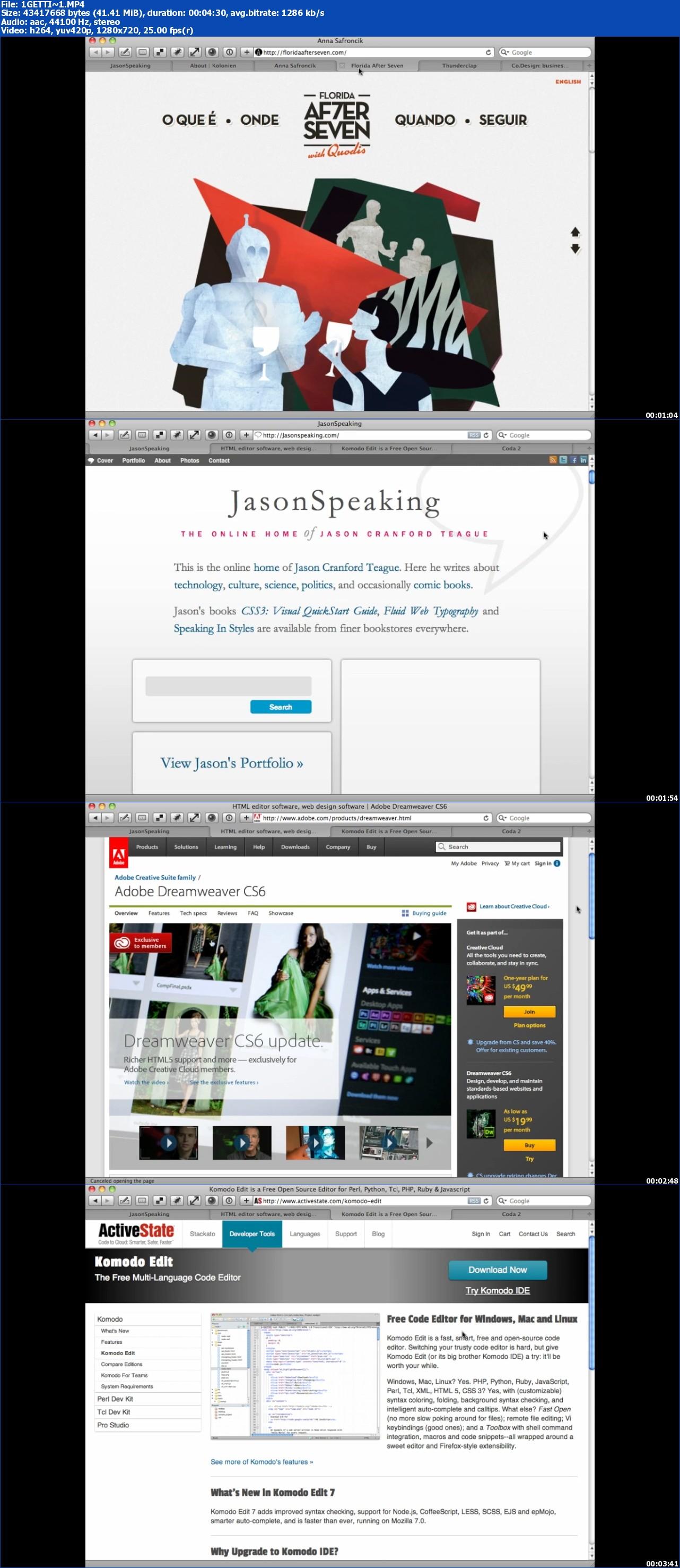 PeachpitPress - CSS3 Video QuickStart