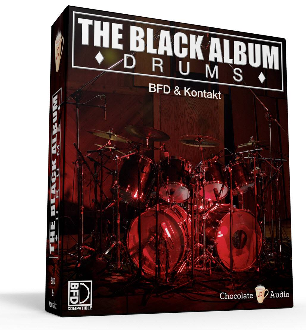 Chocolate Audio The Black Album Drums KONTAKT