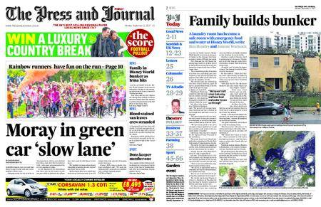 The Press and Journal Moray – September 11, 2017