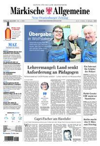 Neue Oranienburger Zeitung - 25. Januar 2019