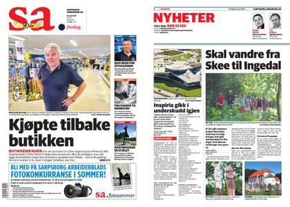 7d9870866 Sarpsborg Arbeiderblad / Archive / AvaxHome