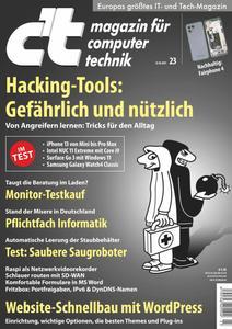 c't - magazin für computer technik - 23 Oktober 2021