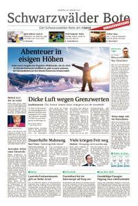 Schwarzwälder Bote Sulz - 26. Januar 2019