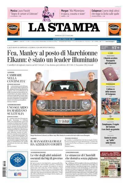 La Stampa - 22 Luglio 2018