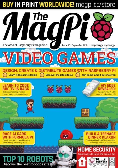The MagPi - September 2018