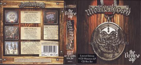Motörhead - The Bronze Age: 1979-1982 (2004) [4CD Box Set]