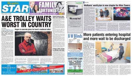 Shropshire Star Shrewsbury Edition – January 10, 2020