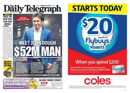The Daily Telegraph (Sydney) – September 14, 2017