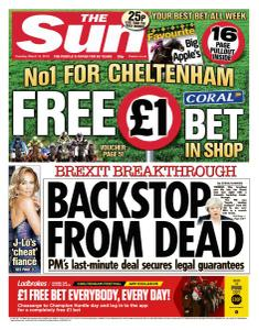 The Sun UK - 12 March 2019