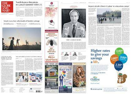 The Globe and Mail – May 16, 2018