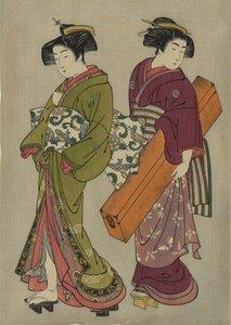 Ukiyo-e painters: The Art of Kitao Shigemasa