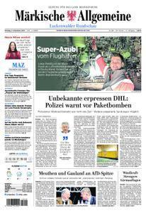 Märkische Allgemeine Luckenwalder Rundschau - 04. Dezember 2017