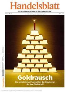Handelsblatt - 22. Dezember 2017