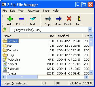 7-Zip version 4.42