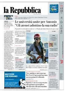 la Repubblica - 16 Dicembre 2018