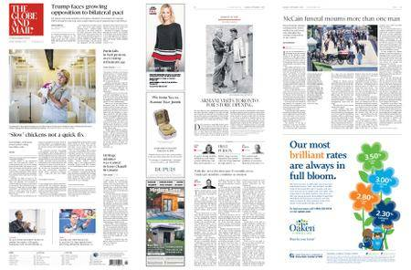 The Globe and Mail – September 03, 2018